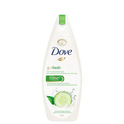 Dove Go Fresh Cool Moisture Cucumber & Green Tea Body Wash