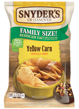 Snyder's Of Hanover Yellow Corn Tortilla Chips