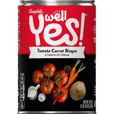 Campbell's® Well Yes!™ Tomato Carrot Bisque