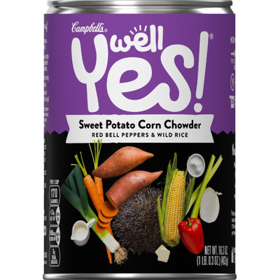 Campbell's Well Yes! Sweet Potato Corn Chowder Soup