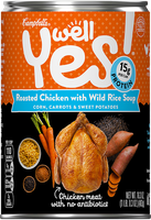 Campbell's® Well Yes! Roasted Chicken with Wild Rice Soup