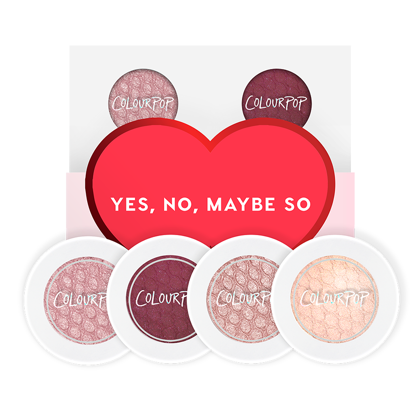 ColourPop Yes, No, Maybe So Super Shock Shadow Foursome