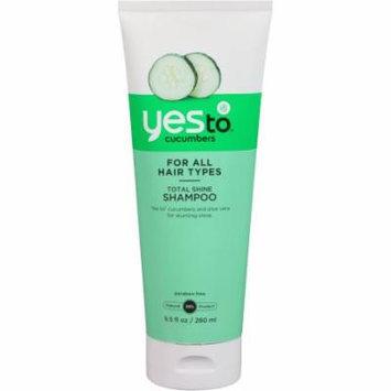 Yes To Cucumbers Total Shine Shampoo
