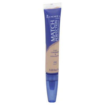 Rimmel: Rimmel Match Perfection Concealer & Highlighter Light