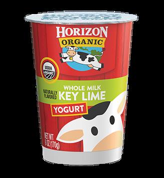 Horizon Whole Milk Key Lime Yogurt