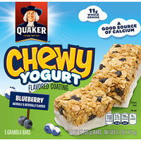 Quaker® Chewy Yogurt Granola Bar Blueberry