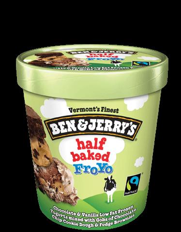 Ben & Jerry's® Half Baked Frozen Yogurt