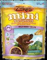 Zuke's Mini Naturals Wild Rabbit Recipe