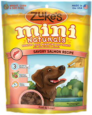 Zuke's Mini Naturals Savory Salmon Recipe