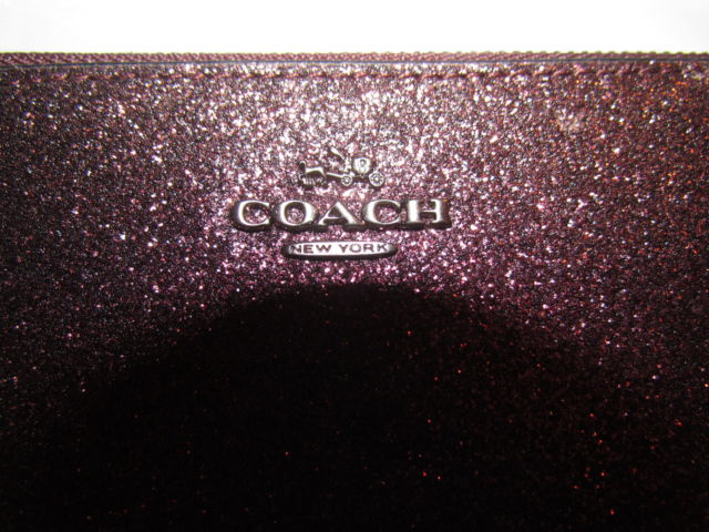 COACH Small Glitter Wristlet uploaded by LEAR25098 Macarena P.