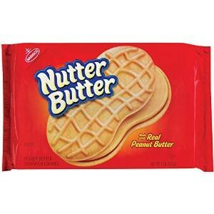 Nabisco Nutter Butter Peanut Butter Sandwich Cookies uploaded by Madelaine M.