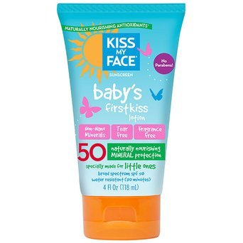 Kiss My Face Mineral Sunscreen Baby's First Kiss Pampering Lotion uploaded by Camila R.