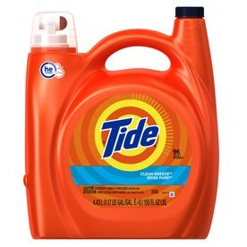 Tide Turbo Clean Coldwater Clean Fresh Scent Liquid Laundry Detergent 1.36L 24 loads  uploaded by Yessi G.