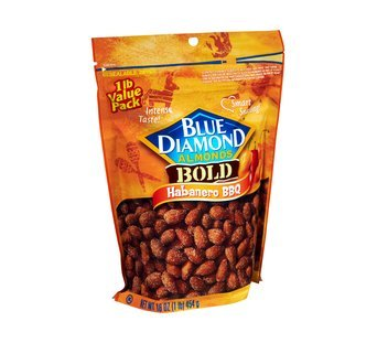 Blue Diamond Bold Habanero BBQ Almonds uploaded by Geraldine R.
