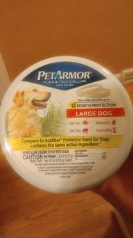 PetArmor Flea & Tick Collar for Dogs uploaded by Ashley W.