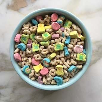 Lucky Charms Cereal uploaded by Megan Z.