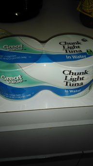 Great Value Light Tuna Chunk In Water, 5 oz uploaded by Debbie s.