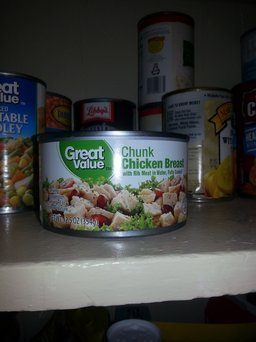 Great Value Chunk Chicken Breast, 12.5 oz, 2 count uploaded by Debbie S.