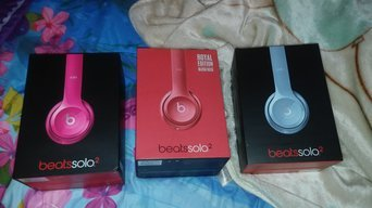 BEATS by Dr. Dre Beats by Dre Solo 2 Headphones - Red uploaded by NASHBIA R.