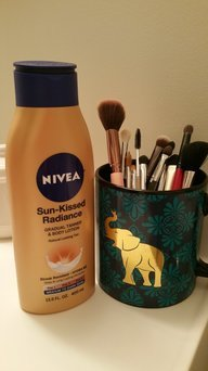 Nivea Sun Kissed Radiance Gradual Tanner & Body Lotion, Fair to Medium, 13.5 fl oz uploaded by Caitlin B.