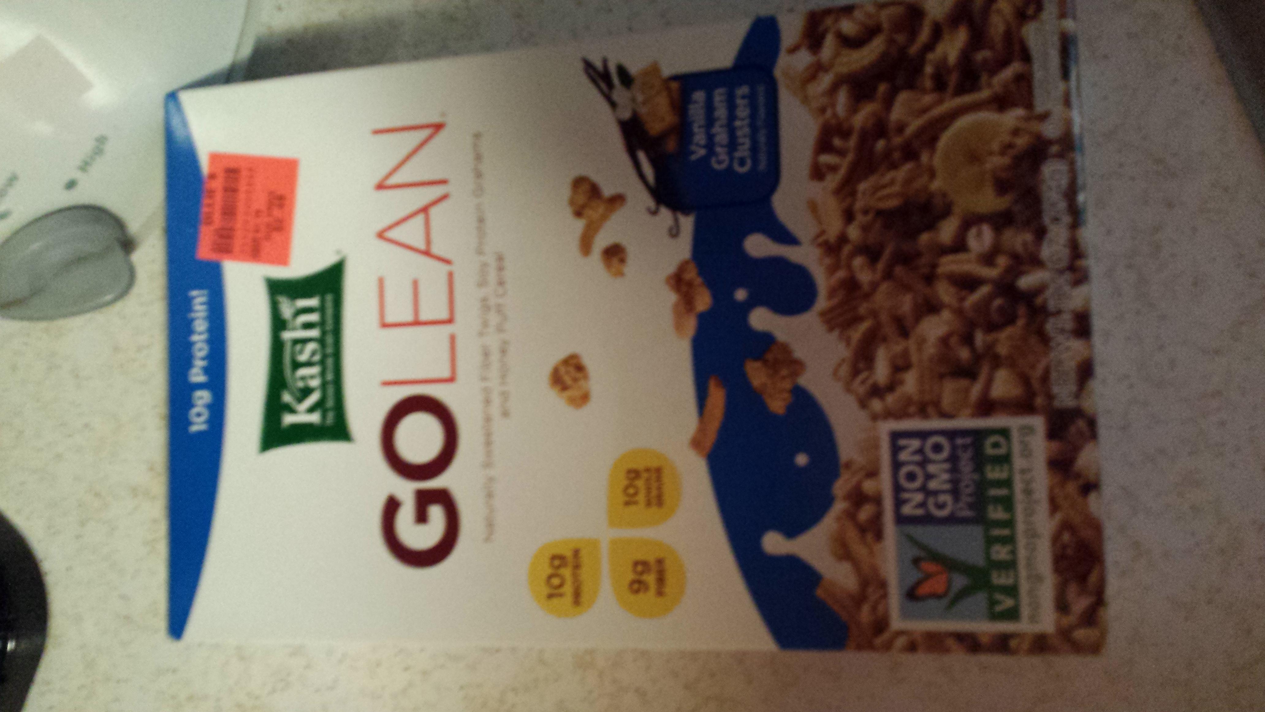 Kashi® GOLEAN Vanilla Graham Clusters uploaded by Jennifer L.