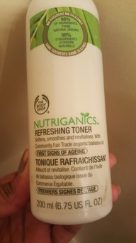The Body Shop Nutriganics Refreshing Toner uploaded by Anuradha T.