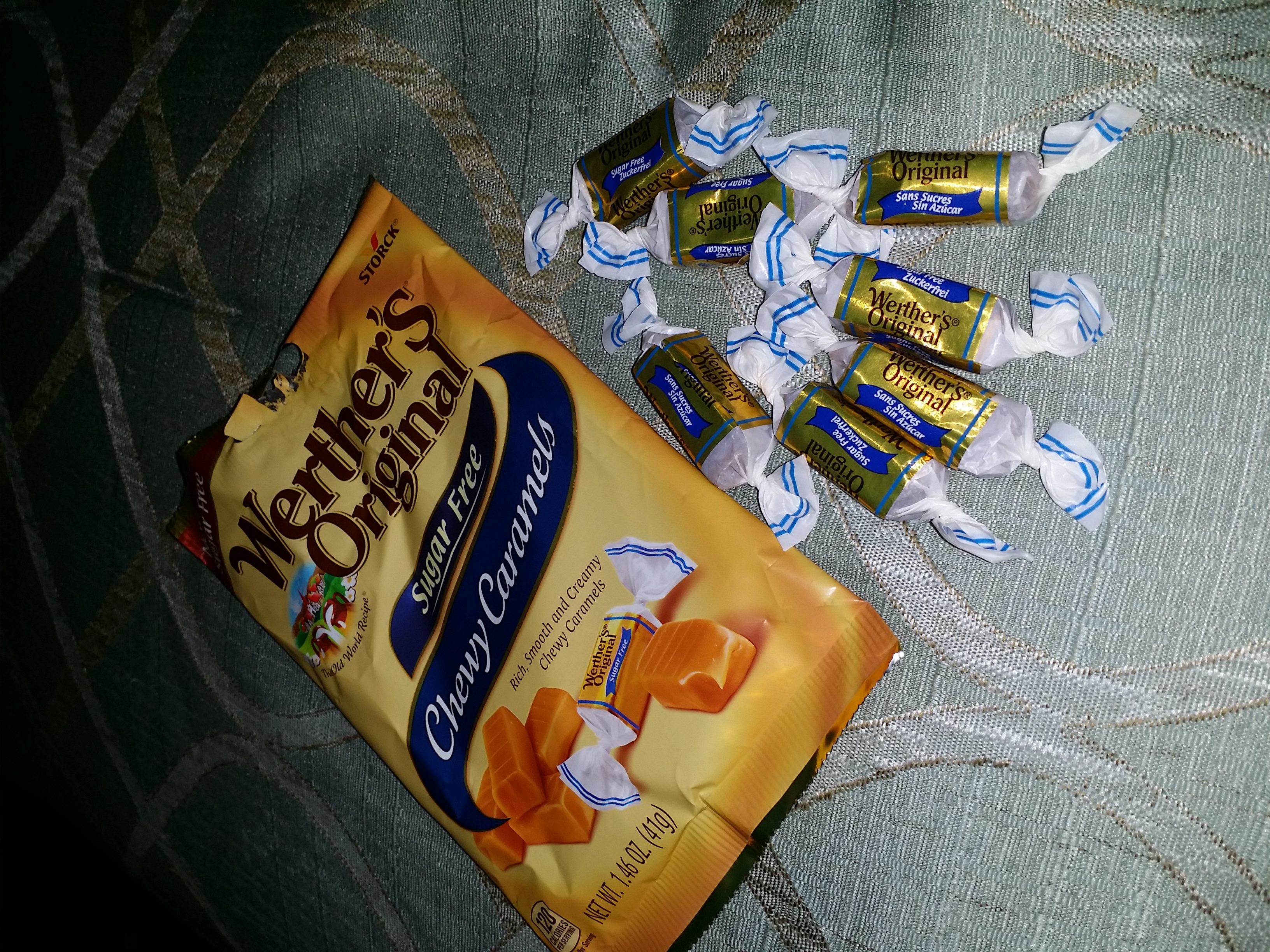 Werther's Original Chewy Caramels Sugar Free uploaded by Hope H.