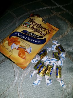 Werther's Original Sugar Free Chewy Caramels, 2.75 oz uploaded by Hope H.