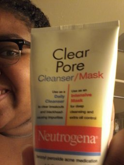 Neutrogena® Clear Pore Cleanser/Mask uploaded by Tajae LaRen P.
