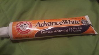 Arm & Hammer® Advance White® Extreme Whitening Baking Soda & Peroxide Fresh Mint Toothpaste 2-6 oz. Cartons uploaded by Candice E.