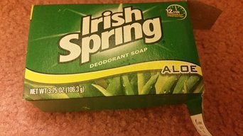 Aloe Deodorant Soap By Irish Spring for Unisex uploaded by Karina R.