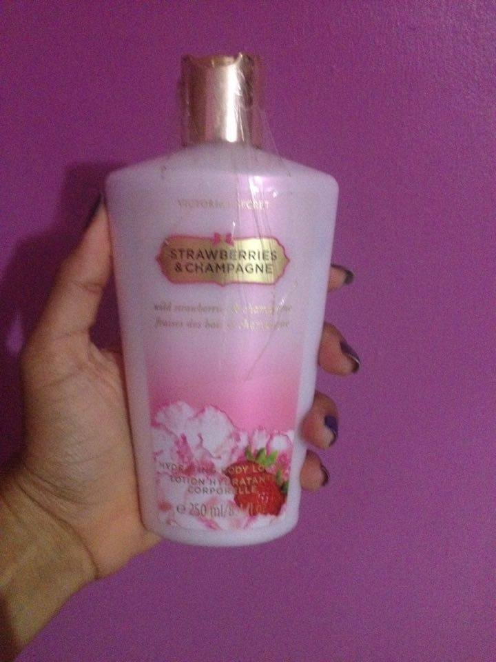 Victoria's Secret Strawberries And Champagne Body Lotion uploaded by Jeanneth A.