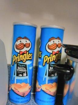 Pringles® Salt & Vinegar Potato Crisps uploaded by Tiffany H.