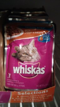 Whiskas Choice Cuts Seafood Selections Cat & Kitten Food - 12 CT uploaded by Amanda Q.