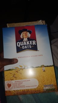Quaker® Oats Gluten Free Oats Canister uploaded by Wendy O.
