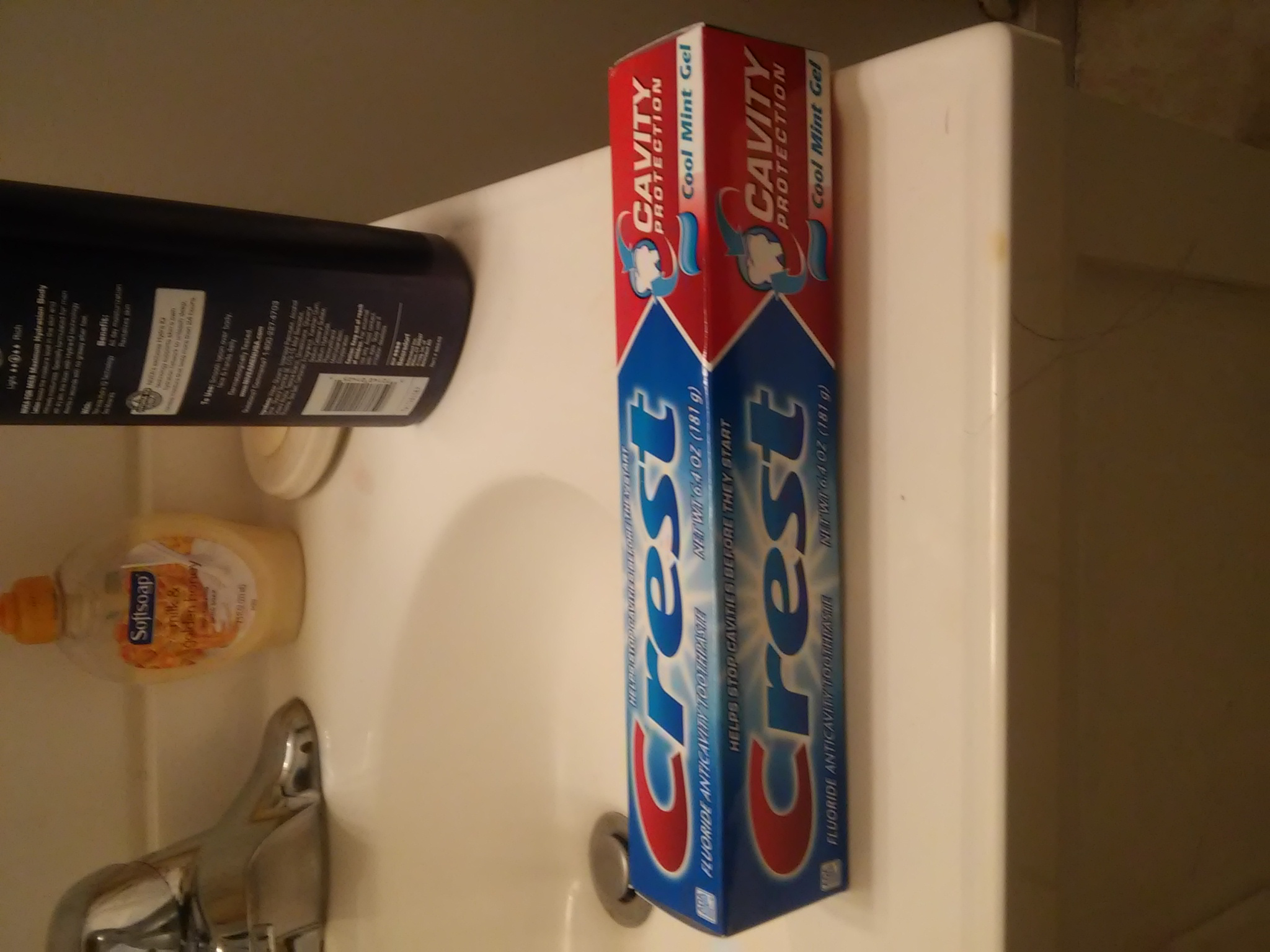 Photo of Crest Cavity Protection Toothpaste uploaded by mary c.
