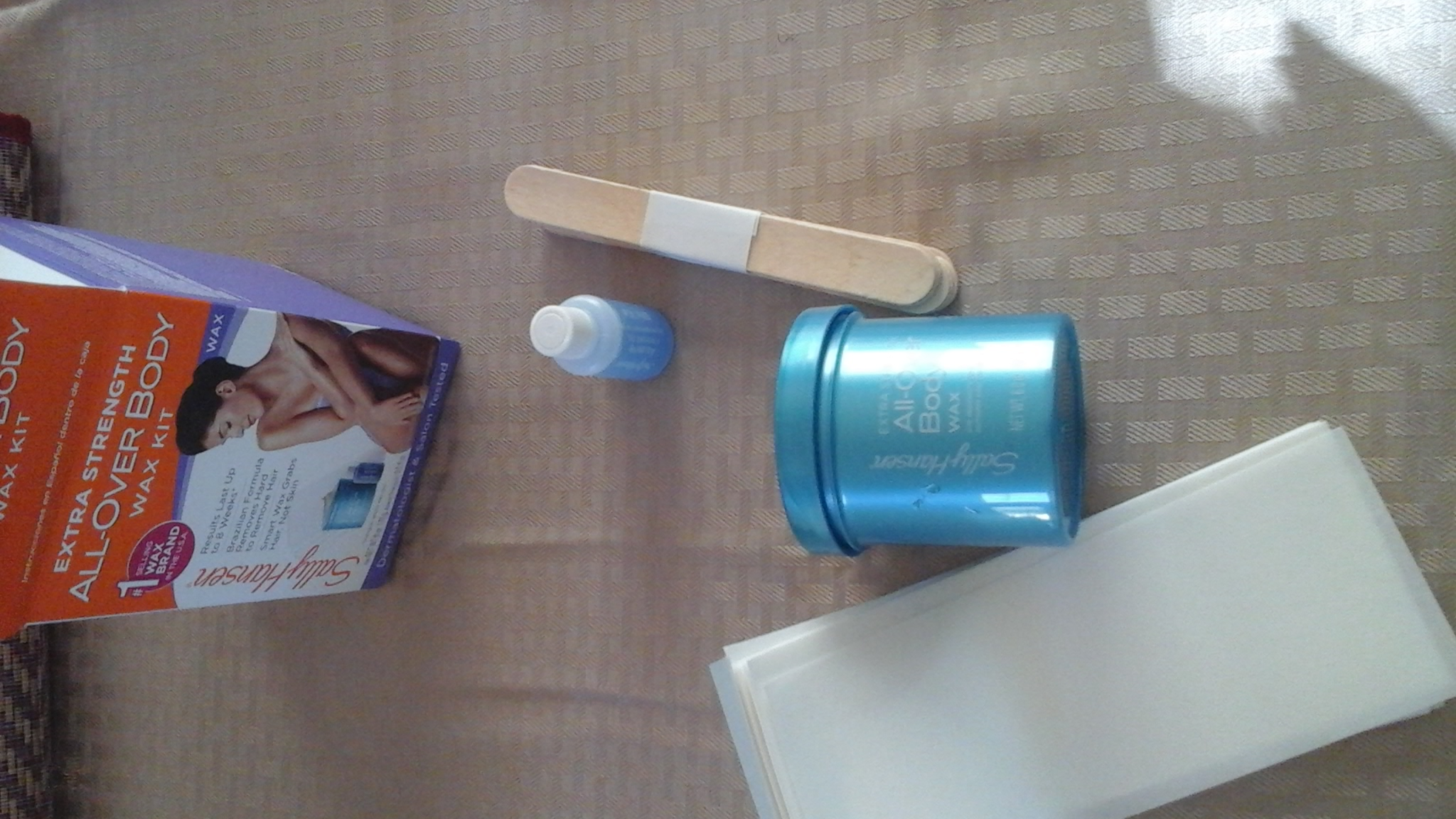 Photo of Sally Hansen® Extra Strength All Over Body Wax Hair Removal Kit uploaded by Danielle C.