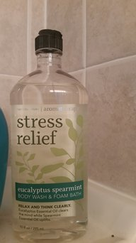 Photo of Bath & Body Works Bath & BodyWorks Stress Relief Body Wash: Travel Size uploaded by Priscilla S.