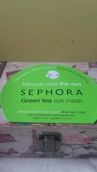 SEPHORA COLLECTION Eye Mask Green Tea Eye Mask - Relaxing & Refreshing 0.21 oz uploaded by Andrea A.