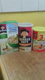 Quaker Natural Cereal Oats Honey & Raisins Granola 14 Oz Box uploaded by Raquel G.
