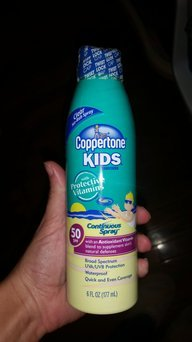 Coppertone Wet 'n Clear Kids Continuous Spray uploaded by Shana T.