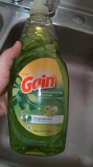 Photo of Gain® Ultra Original Dishwashing Liquid uploaded by Carolina P.