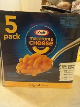 Kraft Macaroni and Cheese Original uploaded by Mary A.