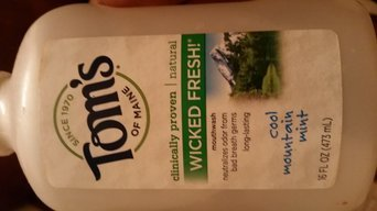 Photo of Tom's of Maine Wicked Fresh! Long Lasting Mouthwash uploaded by Ureina B.