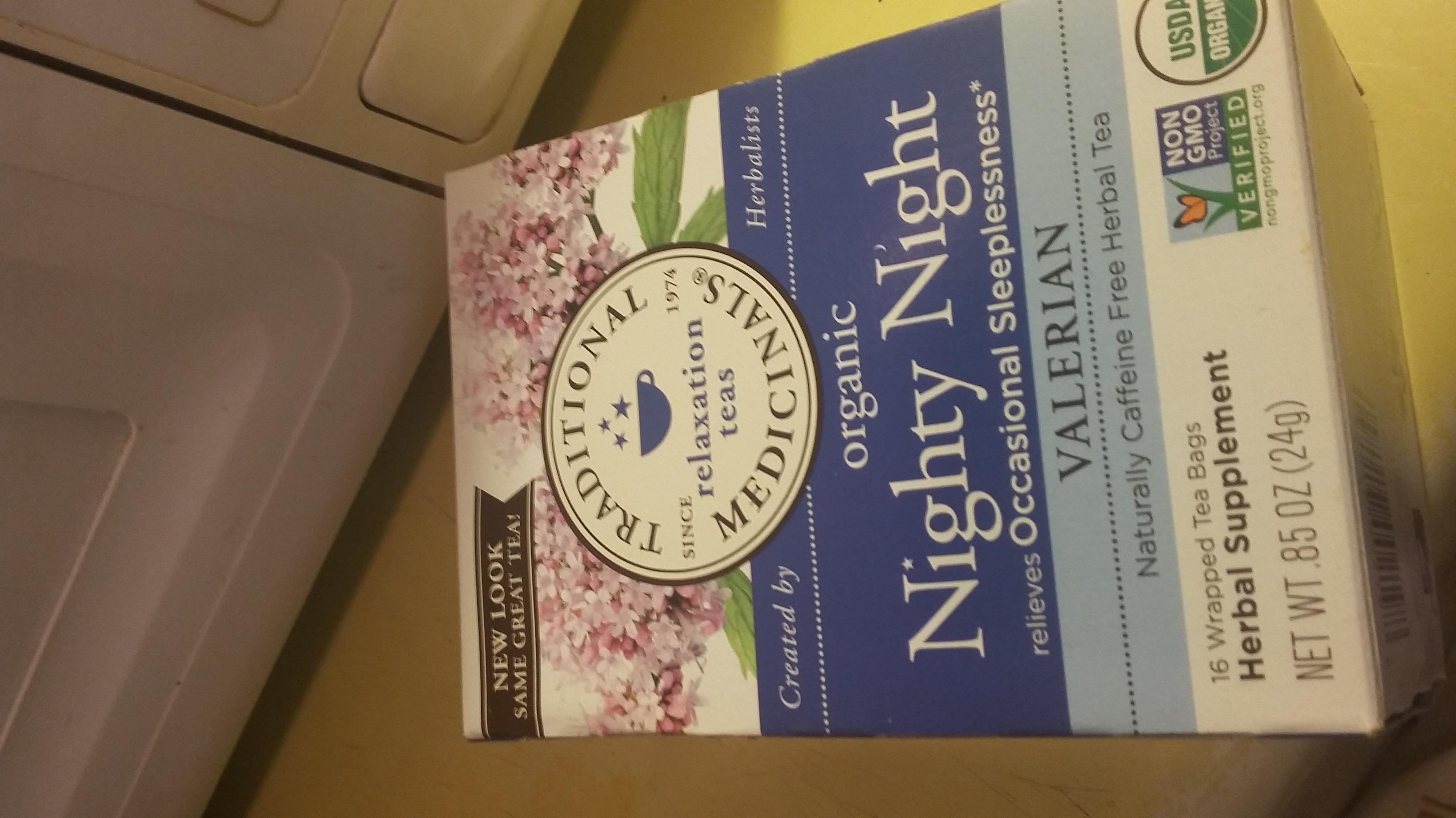 Traditional Medicinals Nighty Night Tea uploaded by Sharon B.