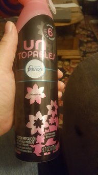 Photo of Febreze Unstopables™ Shimmer Air Refresher 9.7 oz. Aerosol Can uploaded by Tammy F.