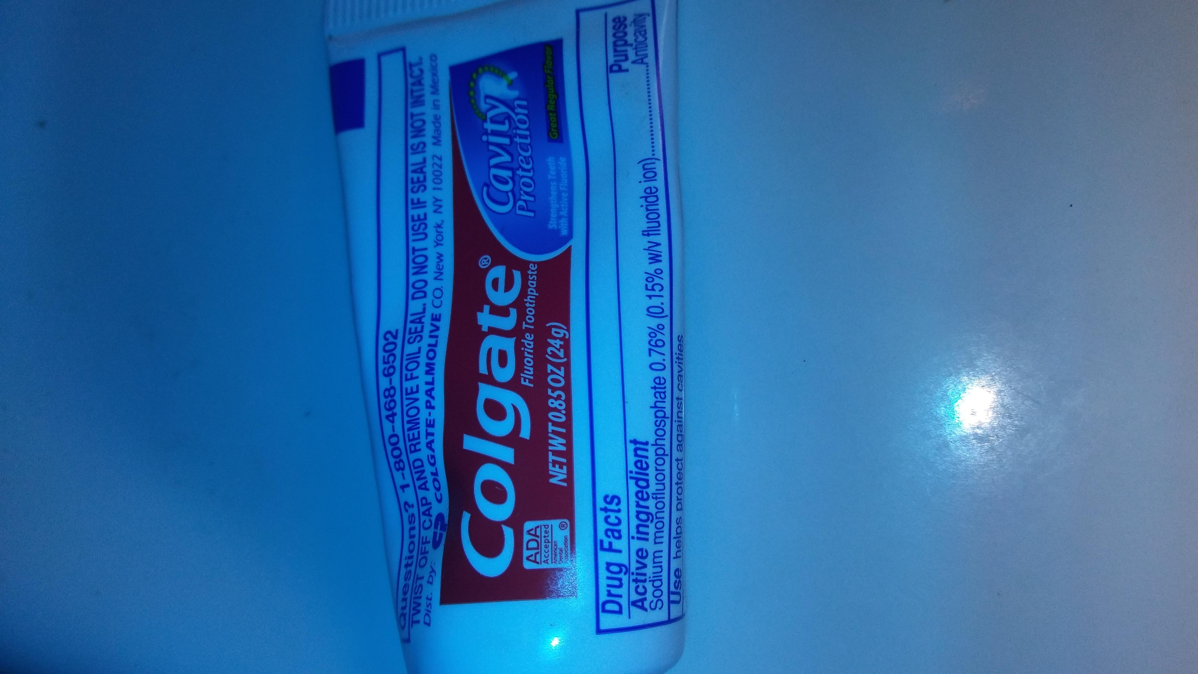Colgate® Baking Soda & Peroxide WHITENING Toothpaste Frosty Mint Stripe Gel uploaded by Patricia G.