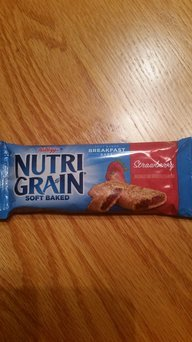 Kellogg's Nutri-Grain Strawberry Cereal Bars uploaded by Tristin K.
