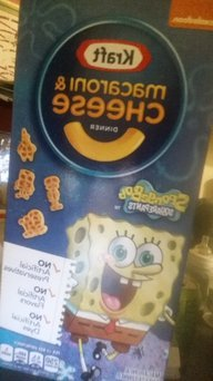 Photo of Kraft Macaroni & Cheese Dinner Spongebob Shapes uploaded by Brittany D.