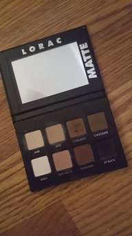 LORAC PRO Matte Eye Shadow Palette (Chocolate/Red/Latte) uploaded by Ashley W.